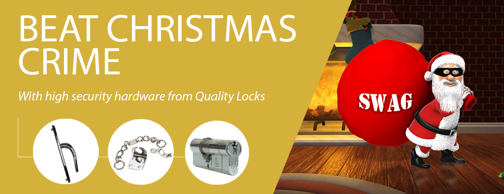 Beat Christmas Crime with High Security Hardware from Quality Locks