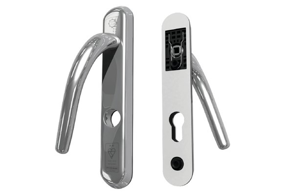 2 Star High Security Front Door Handle