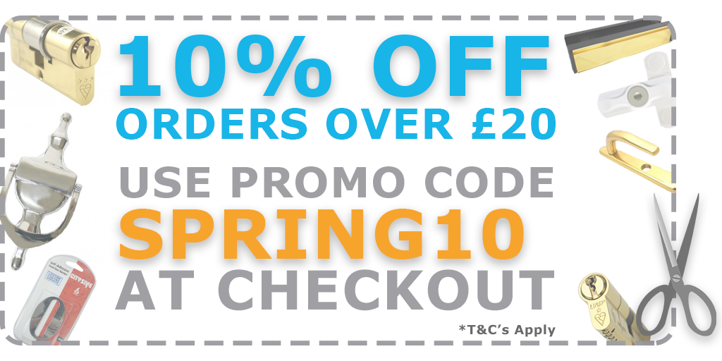 Give your home security a spring makeover with our promotion