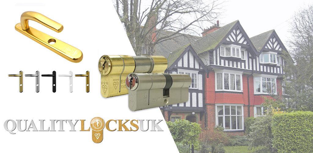 Protect your home with the high security door handle range!