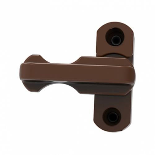Brown Window Lock (Sash Jammer)