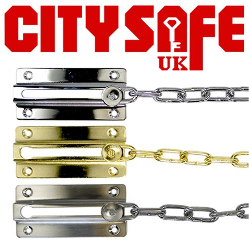 City Safe Sliding Door Chain