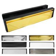 12 Inch Letterboxes - Black Frame