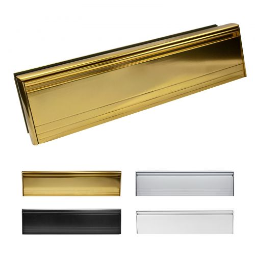 12 Inch All Aluminium Letterboxes