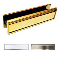 12 Inch All Stainless Steel Letterboxes - Lifetime Coating Guarantee