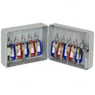10 Hook Key Cabinet