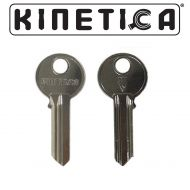Genuine Kinetica Short Key Blank - For 25mm Side Cylinders