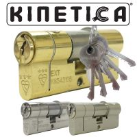 Kinetica High Security Double 3* Kitemarked Euro Cylinders