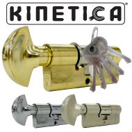 Kinetica High Security Thumb Turn 3* Kitemarked Euro Cylinders