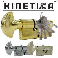 Kinetica High Security Thumb Turn 3* Kitemarked Euro Cylinders