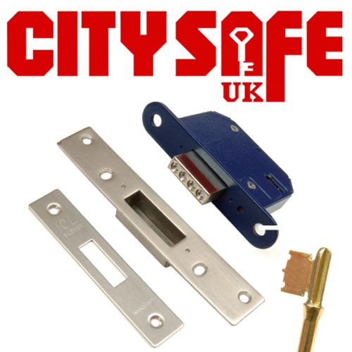 CitySafe 6 Lever Kitemarked Mortice Dead Lock