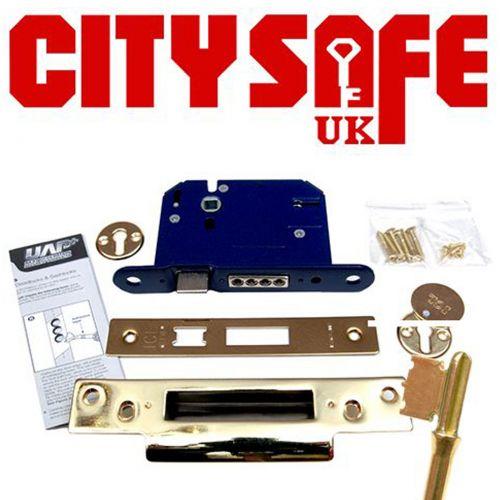 CitySafe 6 Lever Kitemarked Mortice Sash Lock