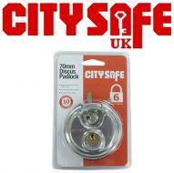 CitySafe  70mm Discus Padlock