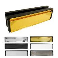 10 Inch Letterboxes - Black Frame