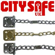 City Safe Secured by Design Narrow Door Chain