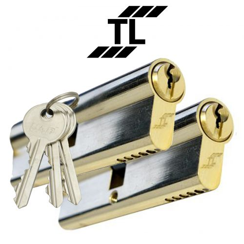 TL Budget Double Euro Cylinders Keyed alike in Pairs