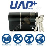 UAP High Security 1* Kitemarked Euro Half Cylinders