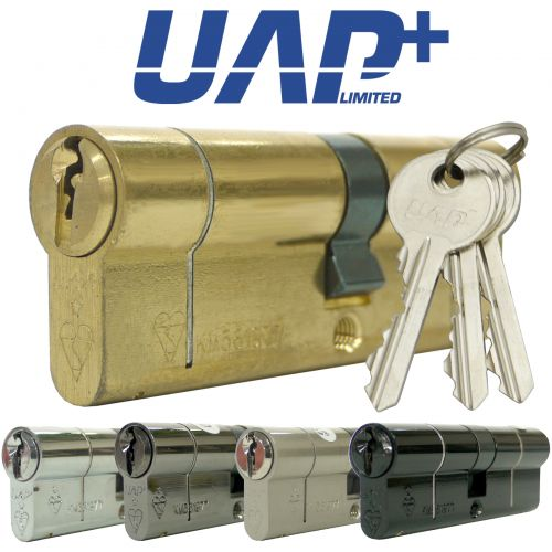 UAP+ High Security Double 1* Kitemarked Euro Cylinders