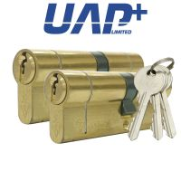 UAP+ High Security Double 1* Kitemarked Keyed Alike Euro Cylinders