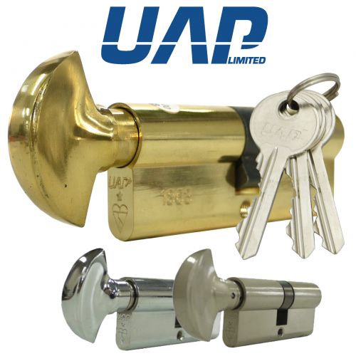 UAP Standard Security Push-2-Turn 1* Kitemarked Cylinders