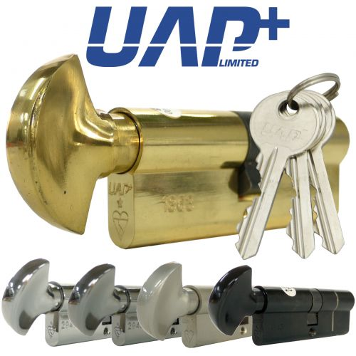 UAP+ High Security Push-2-Turn 1* Kitemarked Euro Cylinders