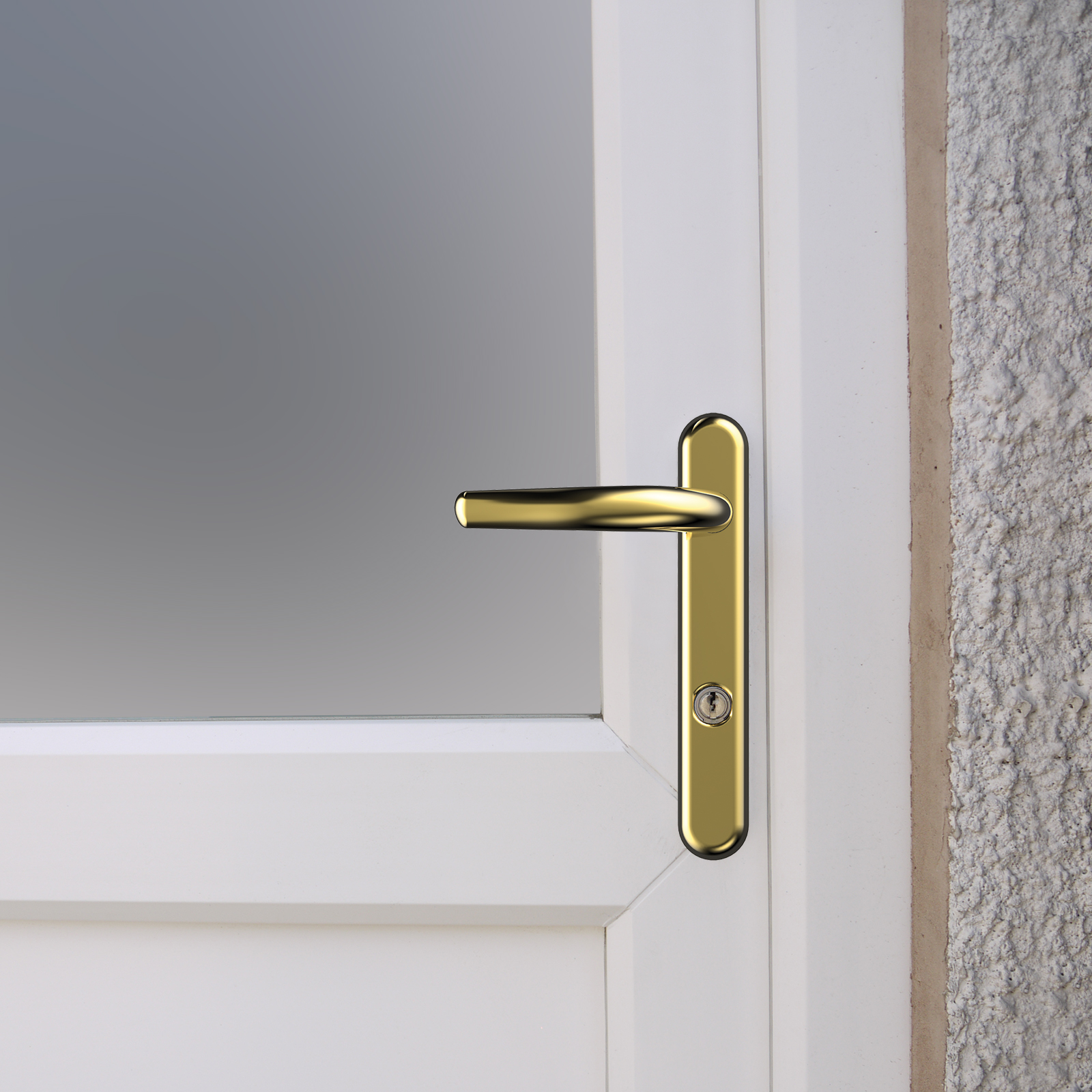 High Security Front Door Handles 2 Star Kitmarked